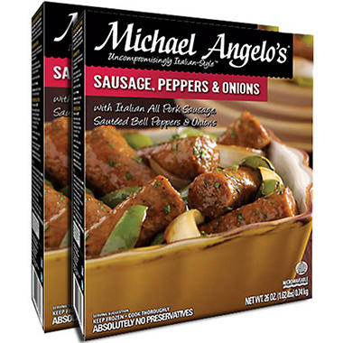 Michael Angelo's® Sausage, Peppers and Onions 2 / 26 oz.