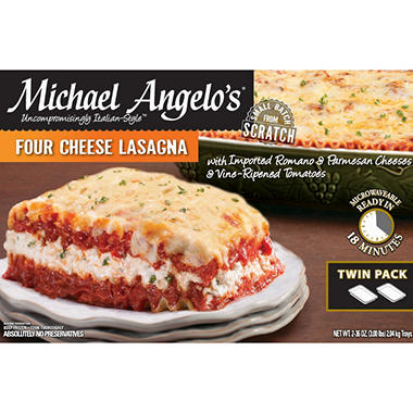 Michael Angelo's Four Cheese Lasagna -  36 oz. - 2 pk.