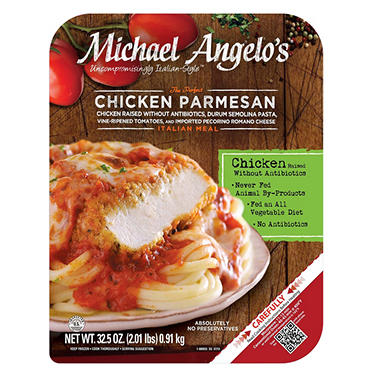Michael Angelo's Chicken Parmesan (32.5 oz., 2 pk.)