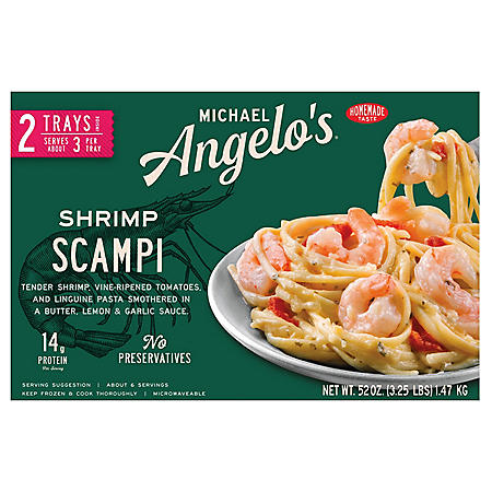 Michael Angelo's Shrimp Scampi, Frozen (2 pk.)