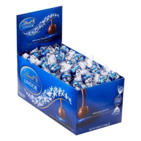 Lindt LINDOR Truffles, Dark Chocolate (120 ct. box)