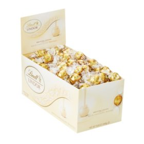 Lindt LINDOR Truffles White Chocolate (120 ct.)