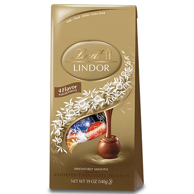 Lindt Chocolate Assorted Lindor Truffle Bag - 19 oz.