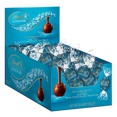 Lindor Truffles Sea Salt (60 ct.)