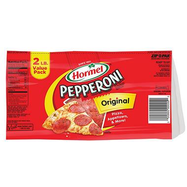Hormel Pepperoni Original Slices 16 Oz 2 Pk Sam S Club