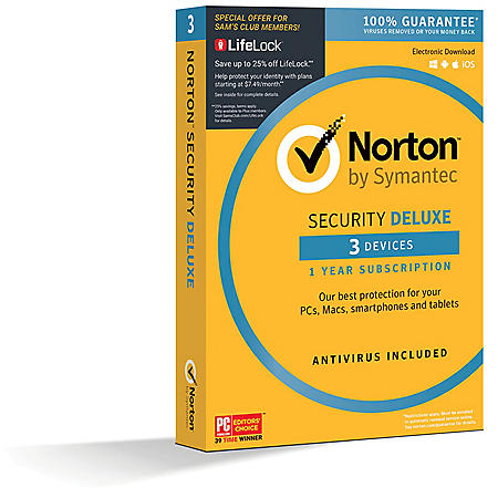 Norton Security Deluxe 3 Device