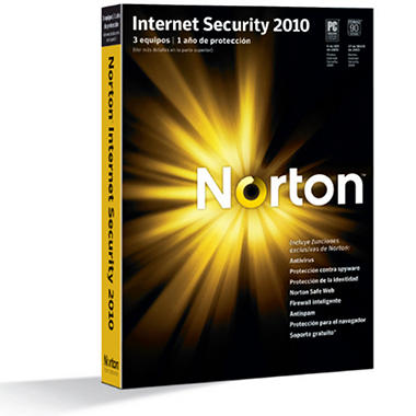 Norton Internet Security 2010 3PC en Español