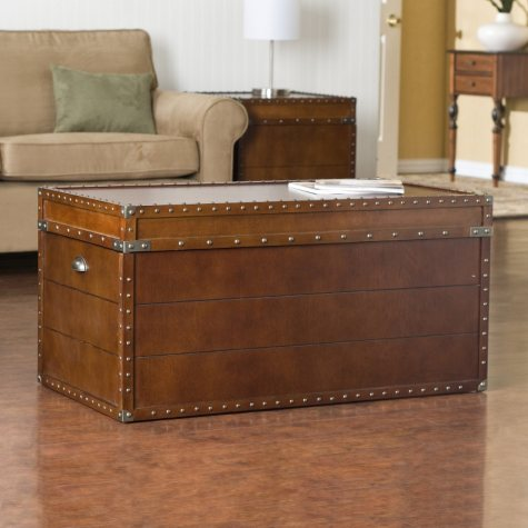 Cruise Line Cocktail Trunk Table