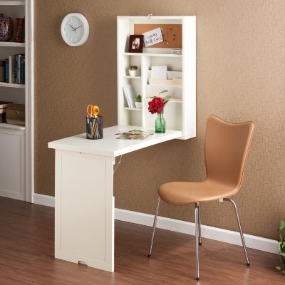 Craft Room Wall Mount Desk White Finish Sams Club