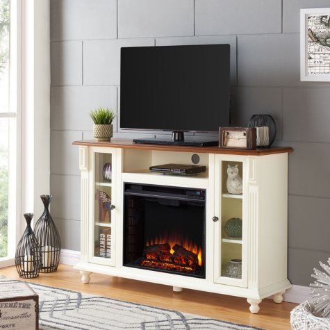 Caster Electric Fireplace