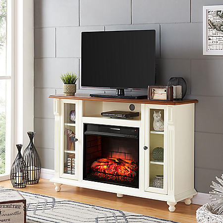 Caster Infrared Fireplace