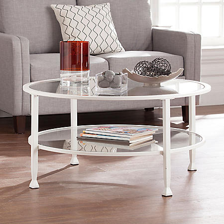 Bakerton Round Cocktail Table (Assorted Colors)