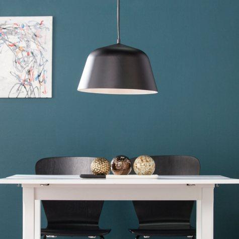 SEI Prescott Black Contemporary Pendant Light