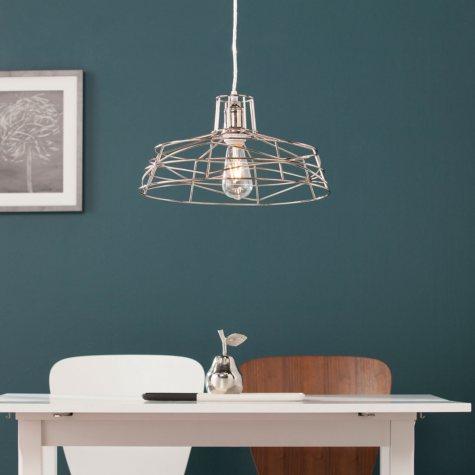 SEI Jaxson Wire Cage Pendant Lamp