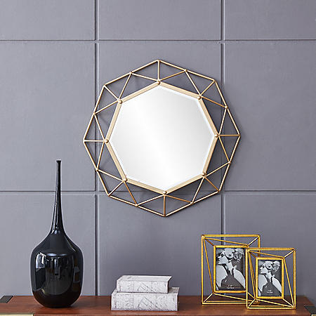 Nancy Glam Mirror Gold