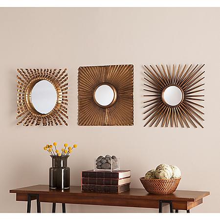 Catherine Decorative Mirrors, Set of 3