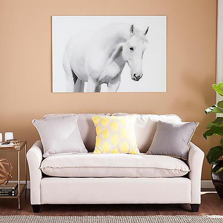 Cavallo I Floating Glass Wall Art
