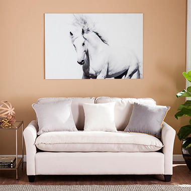 Cavallo II Floating Glass Wall Art