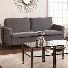 Sydney Small-Space Sofa, Gray