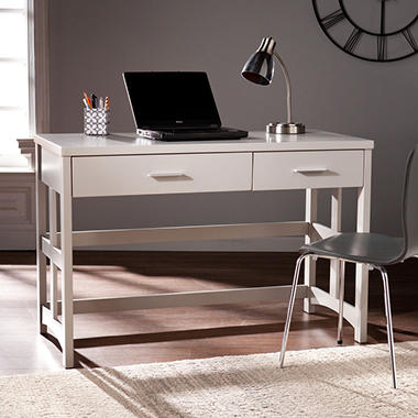 Elderone Craftsman Desk, Gray