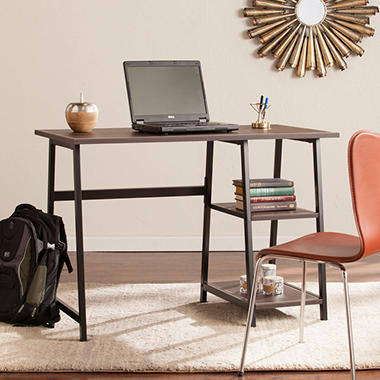 Chocolate Brown Computer Desk Easy Home Decorating Ideas