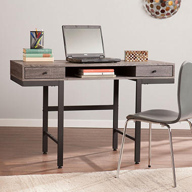 Wailan Writing Desk, Weathered Gray