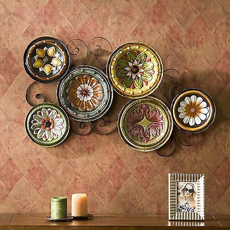 Italian Plates Wall Art