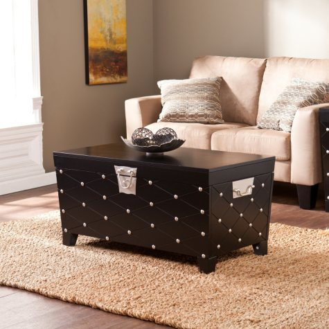 Nailhead Trunk Coctail Table