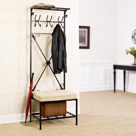 Entryway Storage Rack / Bench