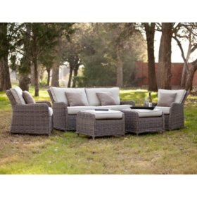 dorchester outdoor seating set and coordinating pieces - Discontinued Patio Furniture