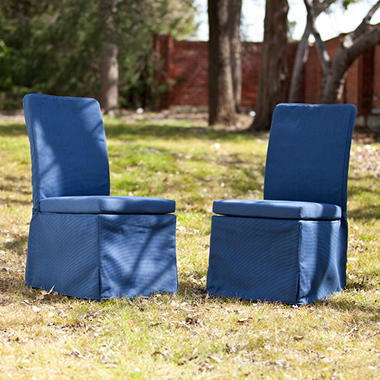 Hampton Outdoor Side Chairs 2-Piece Set