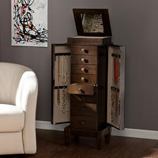 Amber Jewelry Armoire