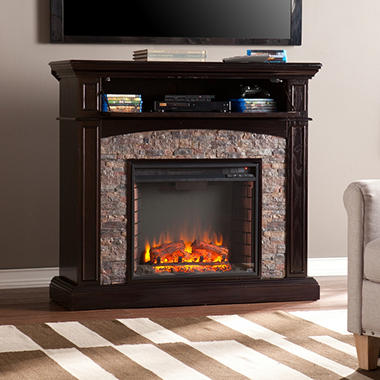 Hastings Electric Fireplace Media Console Sam S Club