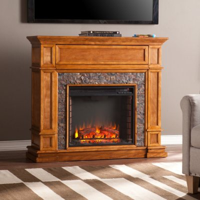 Webster Stone Electric Fireplace