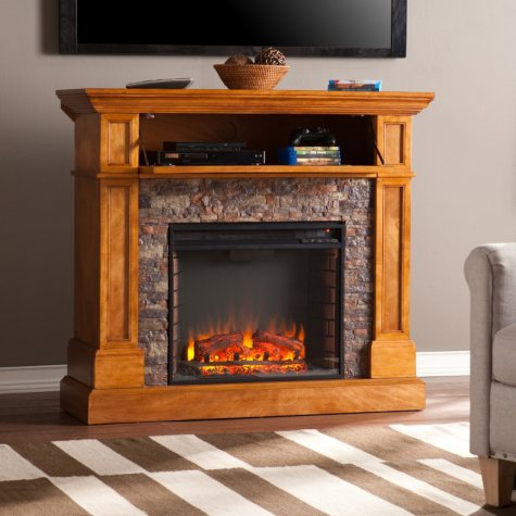 Millsboro Electric Fireplace Media Console