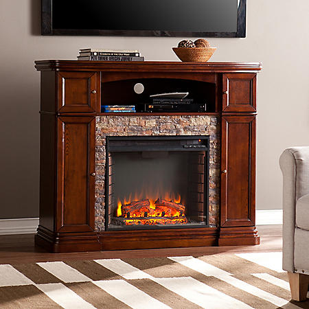 Burlington Electric Fireplace Media Console
