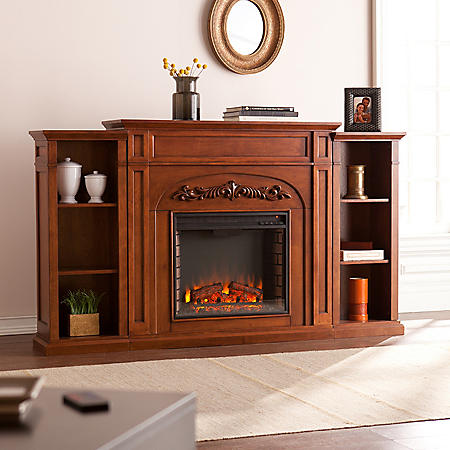 Gwynne Electric Fireplace Bookcase