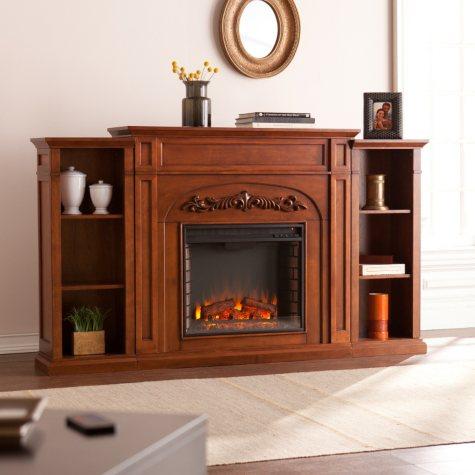 Gwynne Electric Fireplace Bookcase