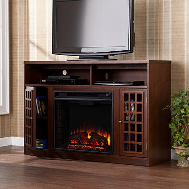 Great Camden Electric Fireplace Media Console