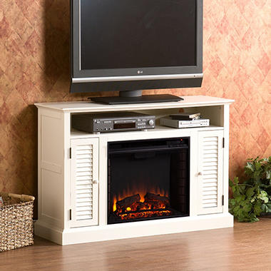 Chatsworth Electric Fireplace Media Console Sam S Club