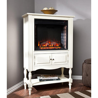 jefferson electric fireplace bookcase tower sam 39 s club. Black Bedroom Furniture Sets. Home Design Ideas