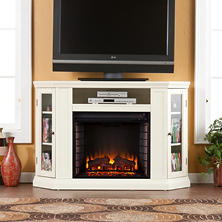 Windsor Electric Fireplace Media Console Heaters  Sam s Club