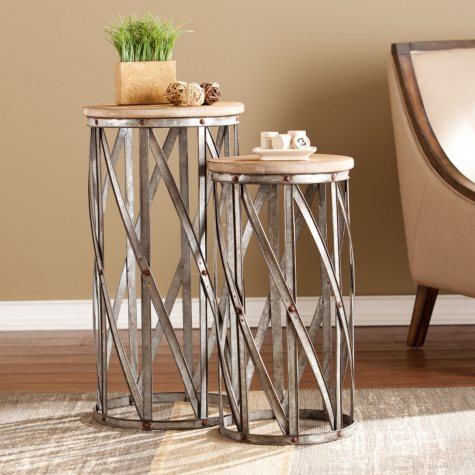 Tucker Accent Tables, Set of 2
