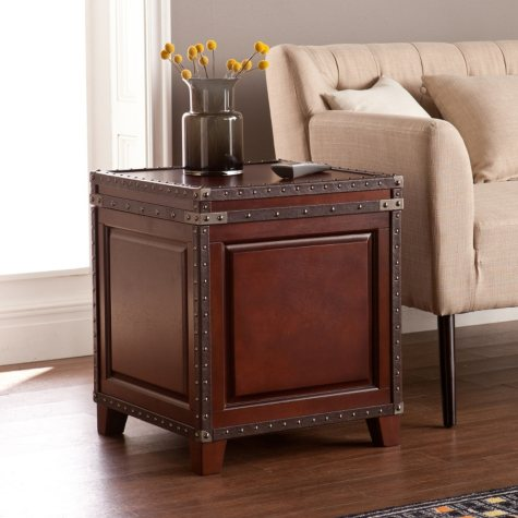 Connor Trunk End Table