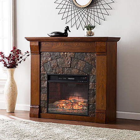 Sheridan Infrared Fireplace (Assorted Colors)