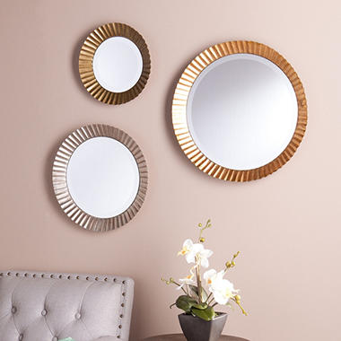 Kingsley Decorative Mirrors, 3-Piece Set