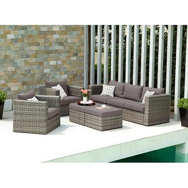 Harlow 5 Piece Outdoor Deep Seating Set