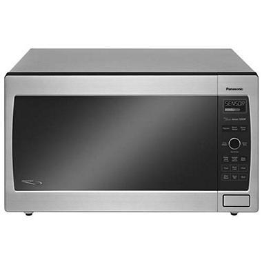 1250 Watt Countertop Microwave Stainless Steel