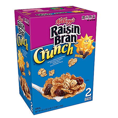 Raisin Bran Crunch Cereal (43.3oz.)