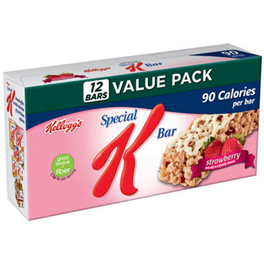 Kellogg's Special K Bars - Strawberry - 12 count